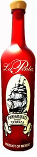 La Pinta Liqueur Pomegranate With Tequila...
